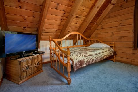 Rustic Cabin with a Queen bedroom and Day Bed - Owl's Mountain View