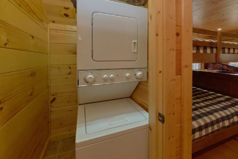 1 Bedroom Cabin with Washer and Dryer - Panorama