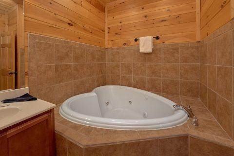 Jacuzzi Tub Lower Game Room Bath Room - Panorama