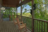 Covered Proch with Rocking Chairs 6 Bedroom