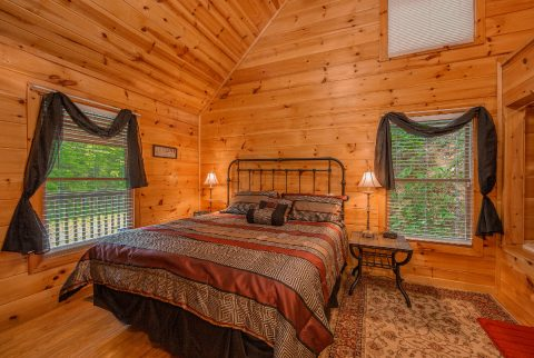 2 bedroom cabin with Private Master bedroom - Pleasant Hollow