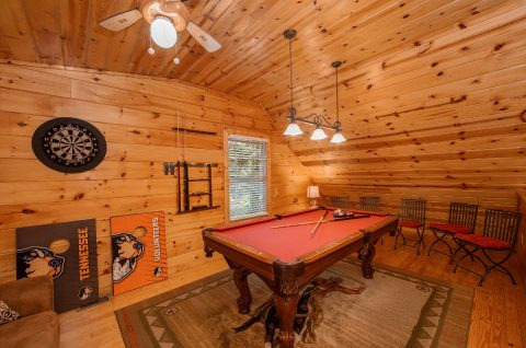 Resort Cabin with Pool Table in Game Room - Pleasant Hollow