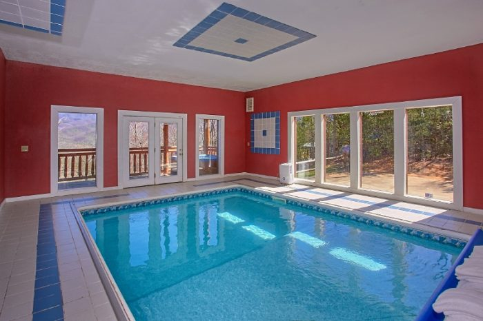 Gatlinburg 6 bedroom cabin private pool theater - 4 bedroom cabins in gatlinburg tn ...