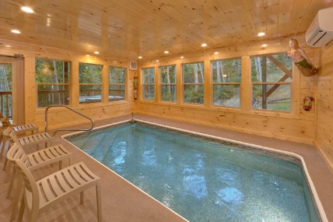 Indoor Pool 2 Bedroom Cabin Sleeps 6 - Pool N Around