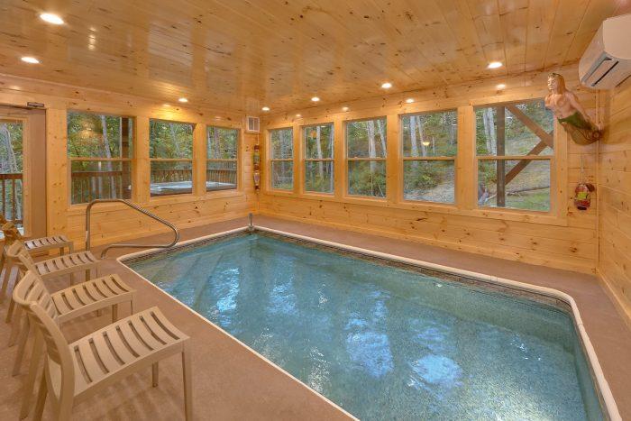Indoor Pool 2 Bedroom Cabin Sleeps 6 - Pool N Around