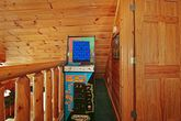 2 bedroom Cabin with Pac Man arcade game