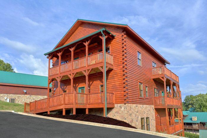 Poolside Lodge Cabin Rental Photo