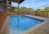 7 Bedroom cabin with Plunge Pool on deck