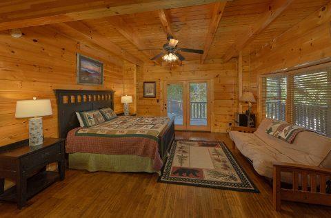 Main Floor King master Bedroom - Quiet Oak