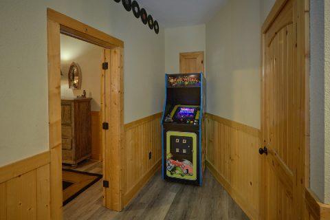 Aracde Game, Pool Table, Shuffel Board , - Quiet Oak