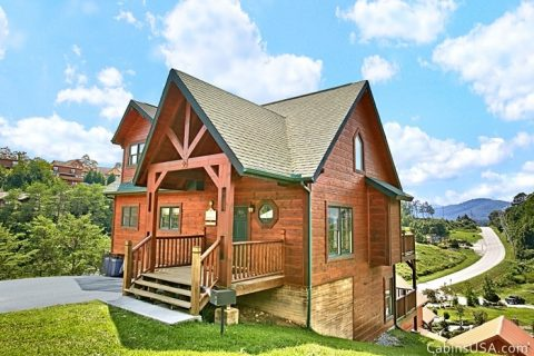 Great Pigeon Forge Cabin Rental - Beckham's Bungalow