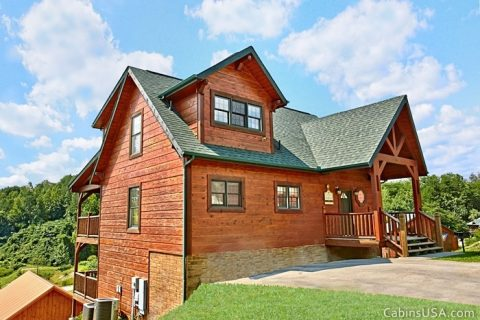 Smoky Mountain Three Bedroom Cabin - Beckham's Bungalow
