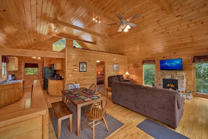 Premium Cabin with Sleeper Sofa and Fireplace - Radiant Ridge