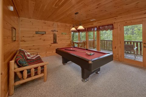 2 bedroom Cabin with Game Room and Pool Table - Radiant Ridge
