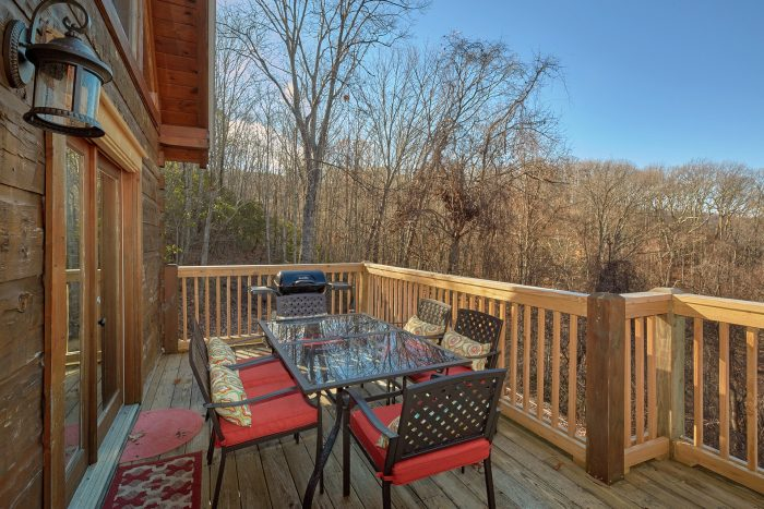 Outdoor Seating with Mountain Views Gatlinburg - Rare Breed