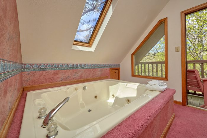 Economical 2 Bedroom Cabin with Jacuzzi - Rays Inn