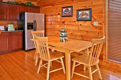 Cabin with Dining Room Table - Rest Assured