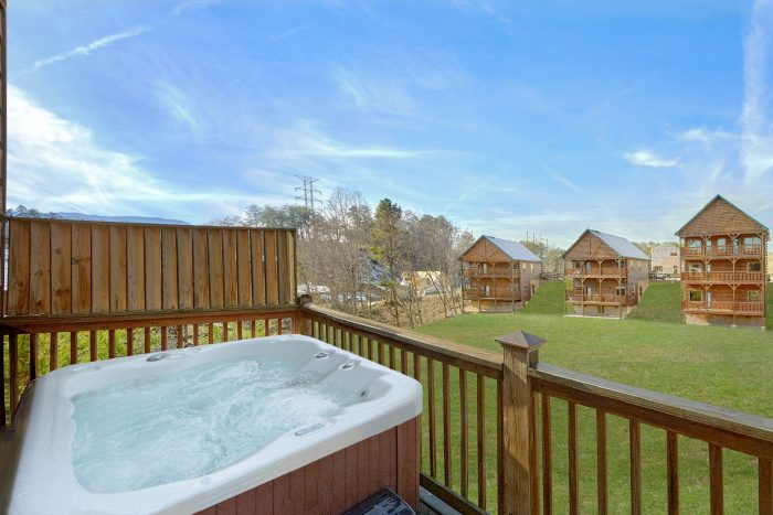 Hot Tub with View - Rest Assured