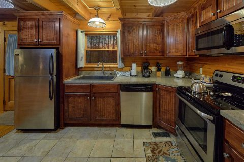 Fully Equipped Kitchen 1 Bedroom Sleeps 2 - Restin Easy
