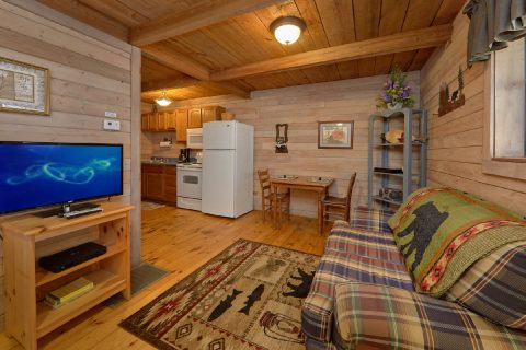 1 Bedroom Cabin Sleeps 2 with Flat Screen TV - River Cabin