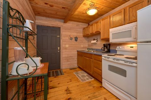 1 Bedroom Cabin with Fully Equipped Kitchen - River Cabin