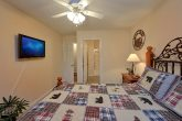 King Bedroom with Bath in 4 Bedroom Cabin