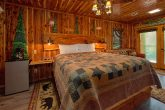 2 bedroom cabin on river with king bedroom