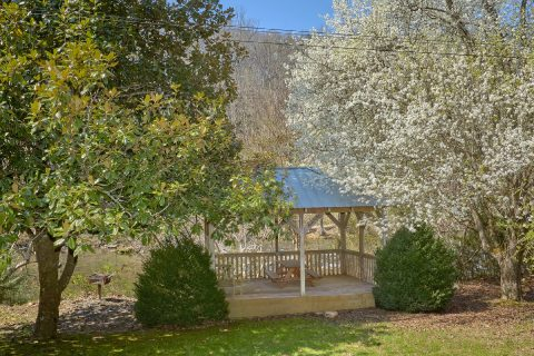2 Bedroom Cabin on the River with Gazebo - River House