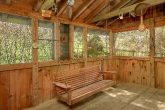Rustic 2 Bedroom Cabin with Screened in Porch
