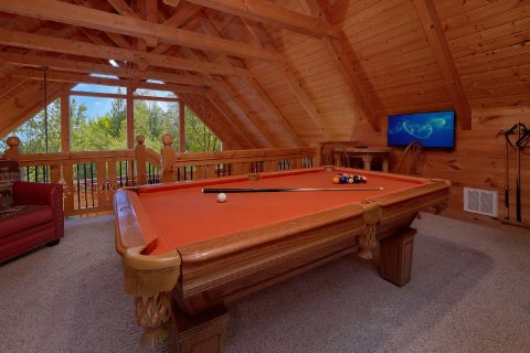 3 Bedroom cabin with a Pool Table in Game room - River Paradise