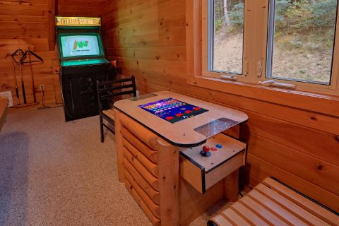 Luxury Cabin on the River with 3 Arcade Games - River Paradise