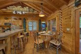 Custom Dining Area with seating for 6 in Cabin