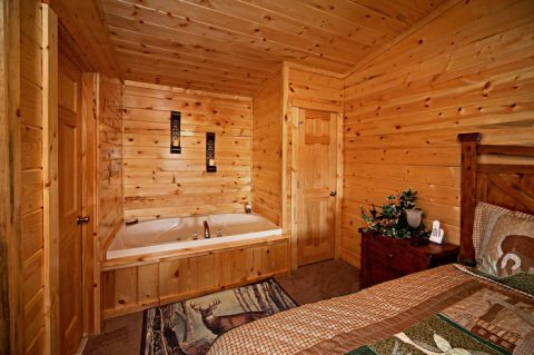 Cabin with Jacuzzi for Two - Rocky Retreat