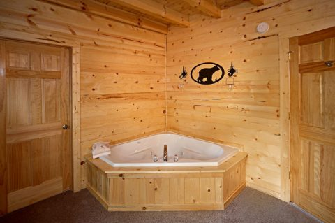 Cabin with Jacuzzi Tub - Rocky Retreat