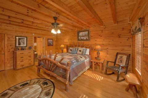 Premium 7 Bedroom Cabin with 6.5 Bathrooms - Rocky Top Lodge