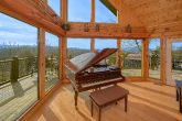 Luxury 7 Bedroom Cabin with a Baby Grand Piano