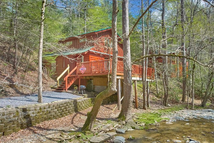 2 Bedroom cabin on the Creek - Rolling Creek