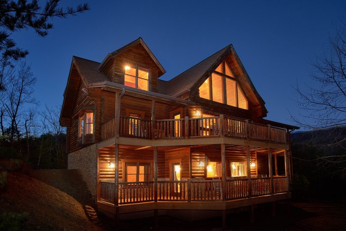 Royal vista luxury 6 bedroom gatlinburg cabin rental - 4 bedroom cabins in gatlinburg tn ...