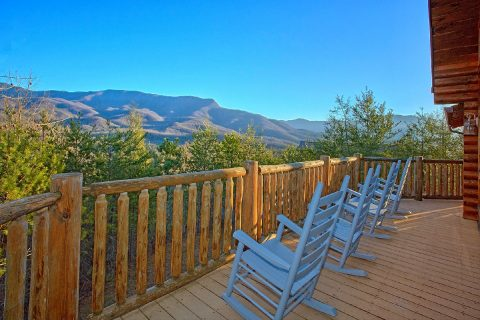 6 Bedroom Cabin Sleeps 20 with Spectacular Views - Royal Vista