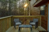 Rustic 2 bedroom cabin with wooded view
