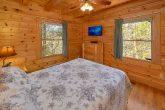 Queen Bedroom with Flatscreen TV