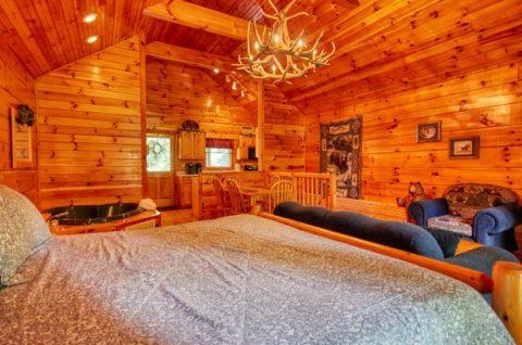 Pigeon Forge 1 Bedroom Sleep 5 - Saw'n Logs
