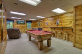 Game Room Pool Table 1 Bedroom Cabin