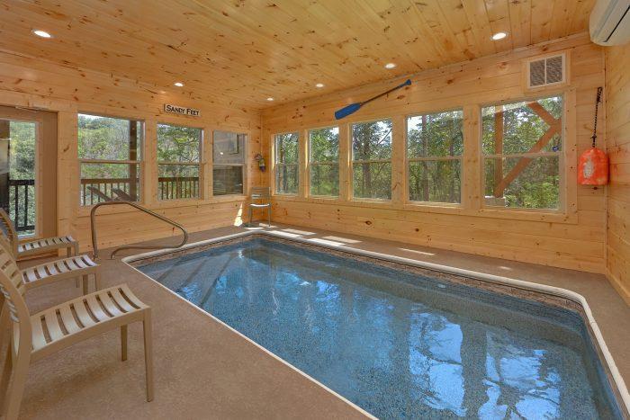 Scenic Mountain Pool Cabin Rental Photo