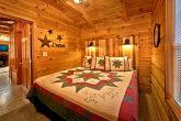 Cabin with private bedroom