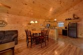 Large Open Floor Plan 2 Bedroom Cabin Sleeps 8