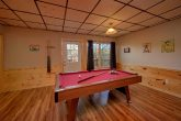 Game Room Pool Table and Theater Room