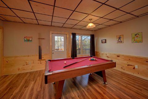 Game Room Pool Table and Theater Room - Serenity