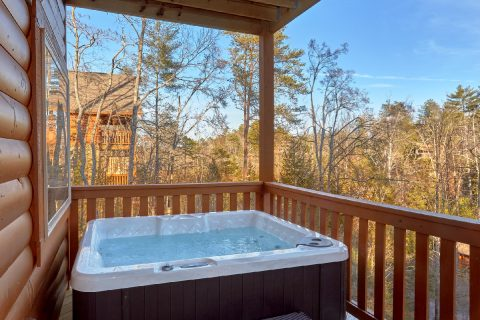 Private Hot Tub 2 Bedroom Cabin - Serenity