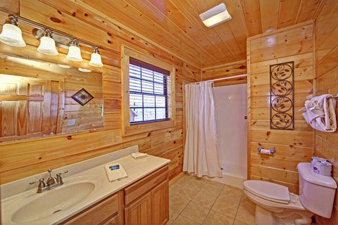 Cabin with Spacious Bathroom - Shakonohey